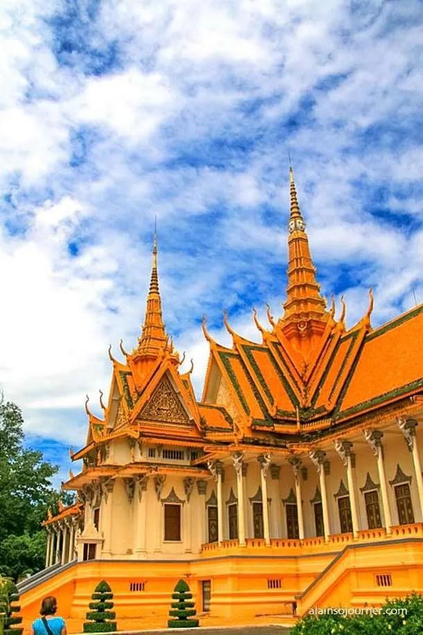 Grand Royal Palace Phnom Penh Cambodia 11
