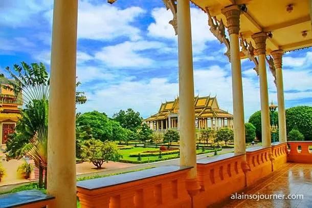 Grand Royal Palace Phnom Penh Cambodia 7
