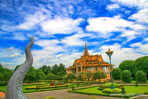 Grand Royal Palace Phnom Penh Cambodia 8