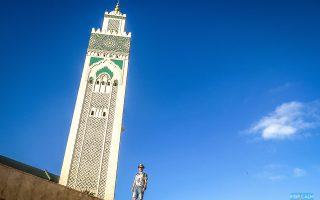 Hassan II Mosque is Casablanca's Famous Landmark.