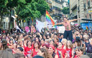 Pride Critic Parade 2016 Madrid Orgullo