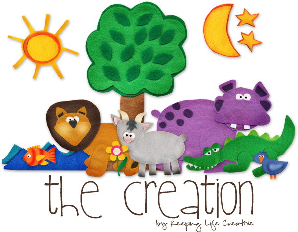 Free Printable Creation Story Printables for interactive and fun Bible learning!