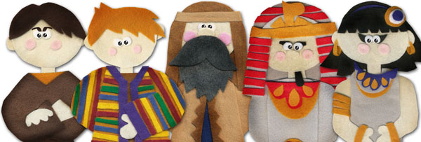 joseph flannel board figures