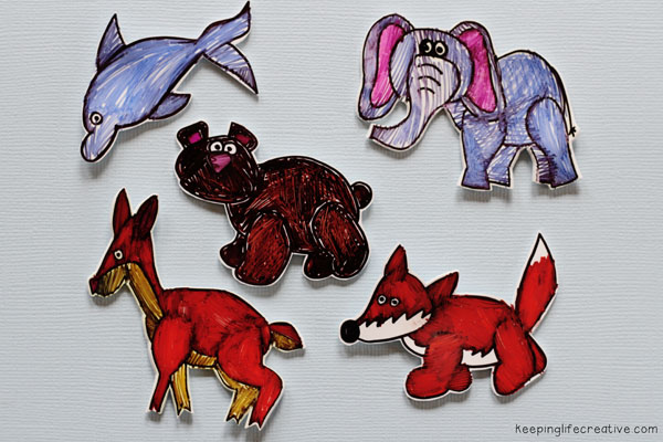 how to make shrinky dinks using clip art images