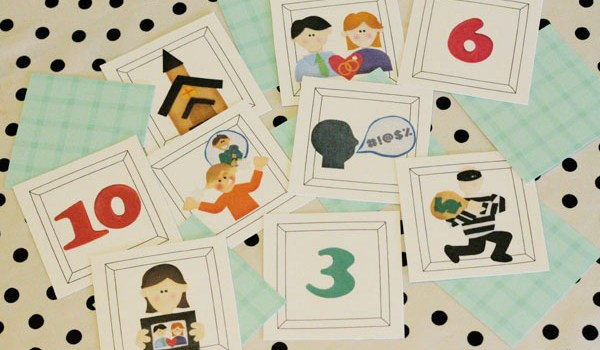Teach Your Kids the 10 Commandments with a Matching Game