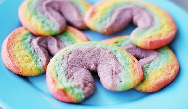 Rainbow Sugar Cookies Recipe