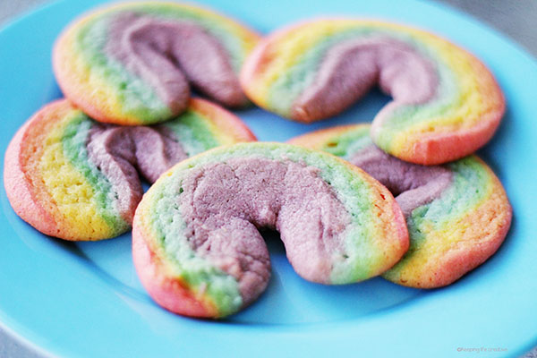 Rainbow Sugar Cookies Recipe