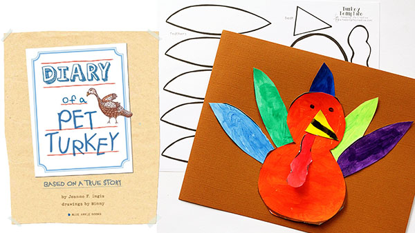 Diary of a Turkey Craft