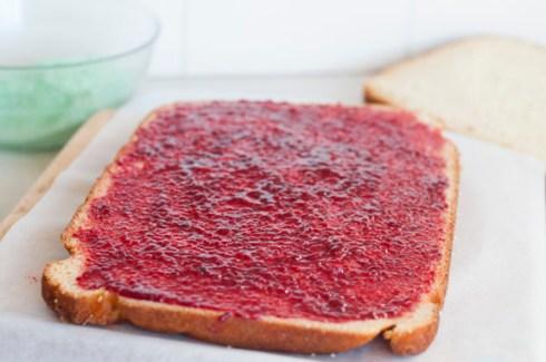 raspberry jam for lamington cake