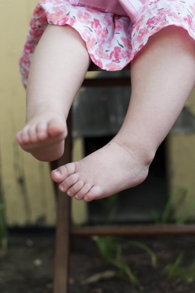 Chloe's feet