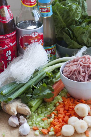 san choy bow ingredients