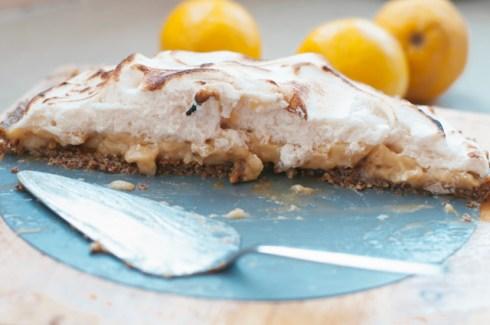 gluten free lemon meringue pie