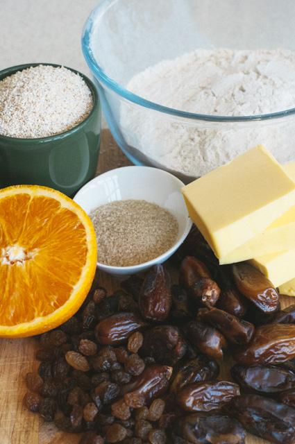 date slice ingredients