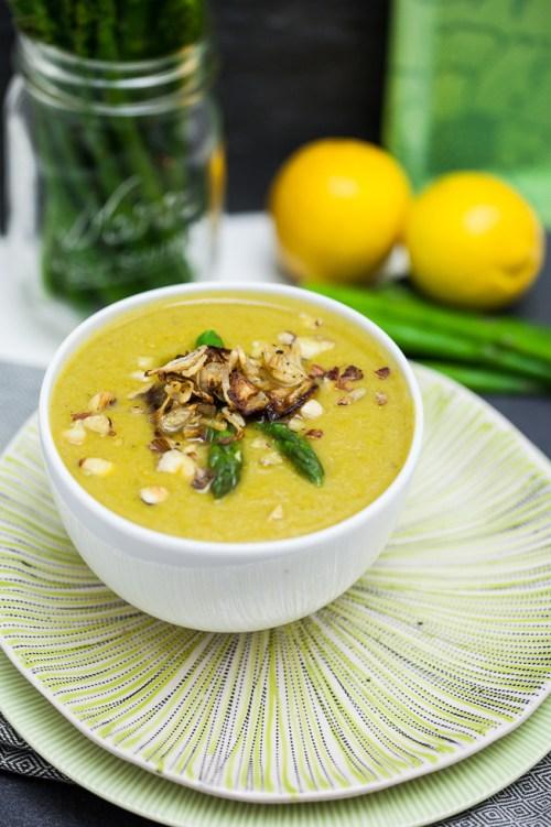 Cream of Asparagus Soup 2