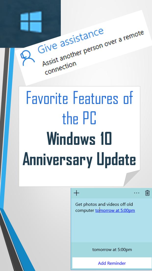 Windows Anniversary Update
