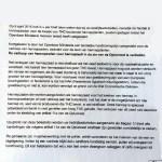 Brief der Gemeinde Gorinchem (Quelle: VOC) 1/2