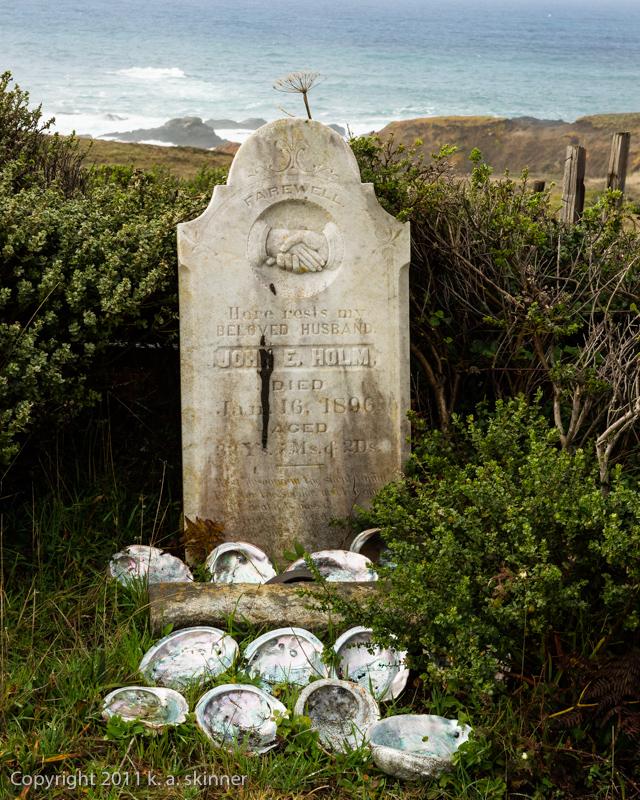 Grave, Cuffey's Cove Cemetery