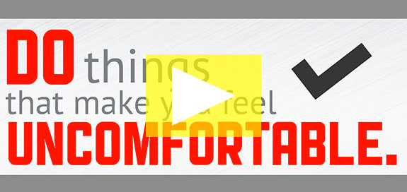[Video] Get Comfortable with Being Uncomfortable