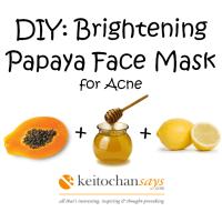 DIY: 3 Papaya Face Mask Recipes for Bright Glowing Skin