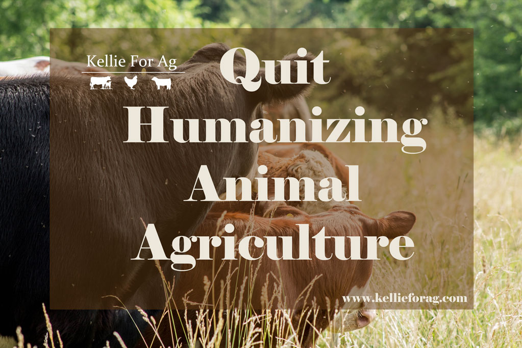 Quit Humanizing Animal Agriculture
