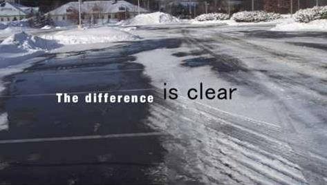 Bare Pavement More Often – 3 Advantages of Using Liquid Deicing for Commercial Lots