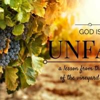 God is Unfair.