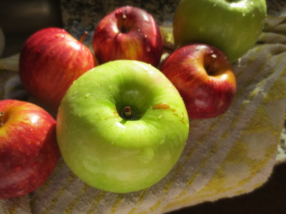 Apples for pie