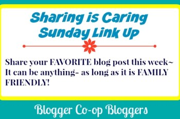 Sharing Is Caring Blog Link Up!