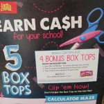 Find the 5 Box Tops at Walmart