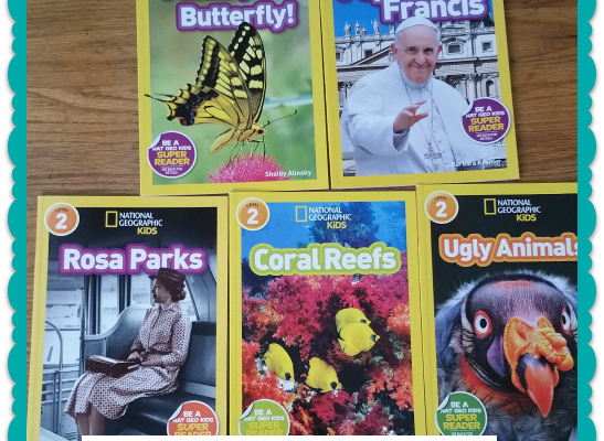 Get Ready For Back to School with National Geographic Kids Books #readingrocks