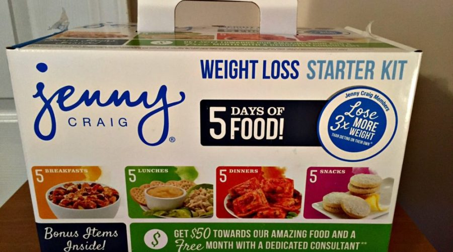 Jump Start Your Weight Loss With Jenny Craig #JennyCraigKit