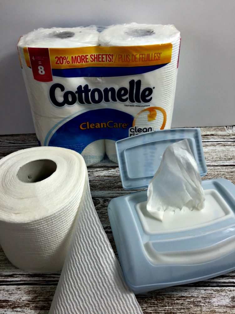 Going Commando with Cottonelle