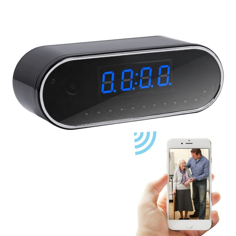 Wiseupshop spy camera clock best choice for home security Best gadgets for home