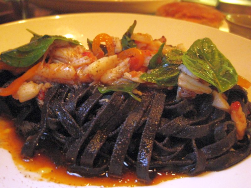 Squid Ink Linguini SPQR