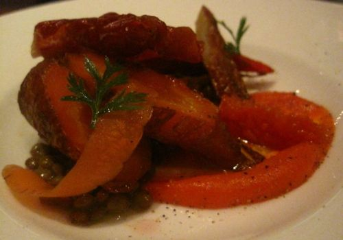 Roasted Carrot Salad1