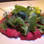 Beets in Roasted Hay Coi