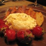 Goat Cheese with Strawberries