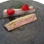 Anchovy and raspberry