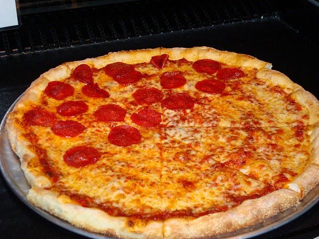 Serranos Pepperoni Pizza