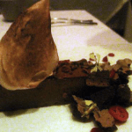 Chocolate Dessert at Aziza