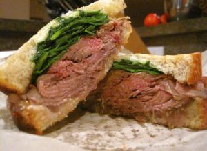 Roastbeef Sandwich Salumeria