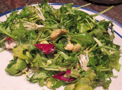 Avocado and Arugula Salad