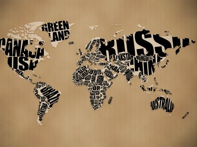 15 Really Cool World Map Wallpapers – Blaberize
