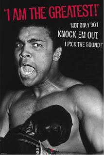 Ali, I am the greatest