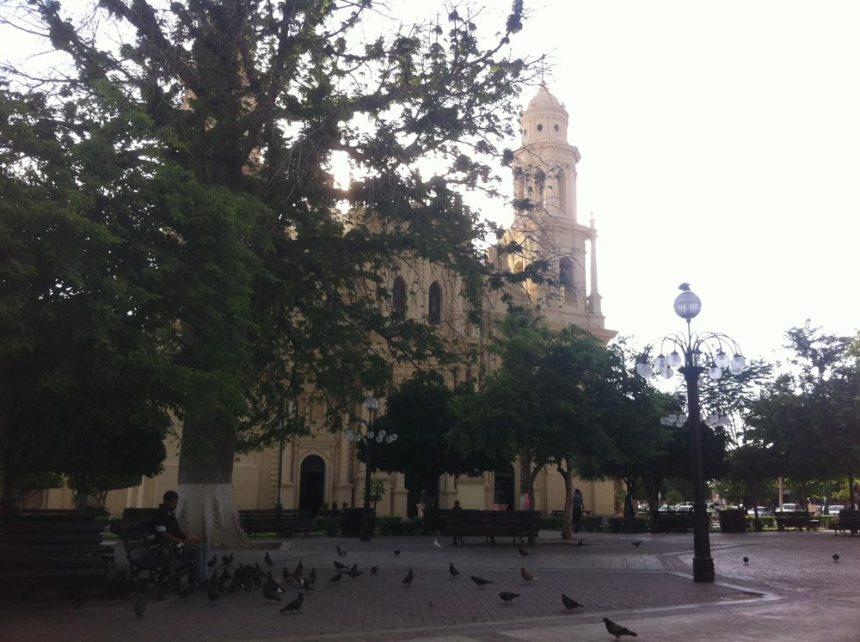 Catedral de Hermosillo en Plaza Zaragoza