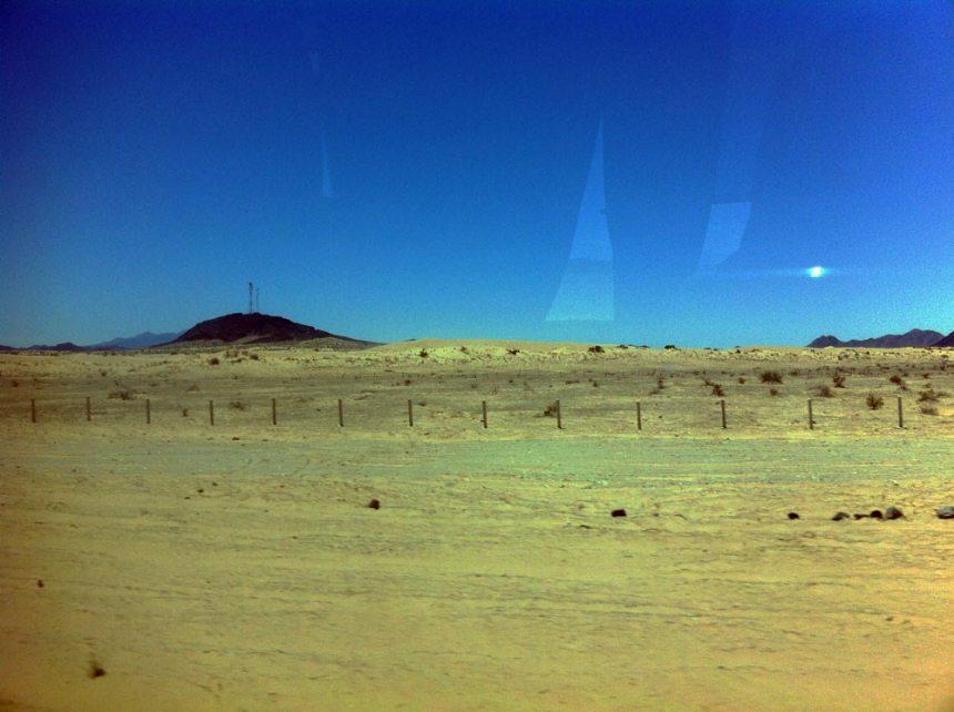 Un desierto amarillo desde mi ventana