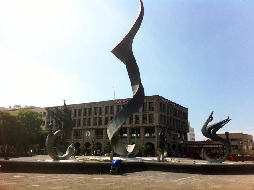 Fuente de la Inmolación de Quetzalcoatl en Guadalajara