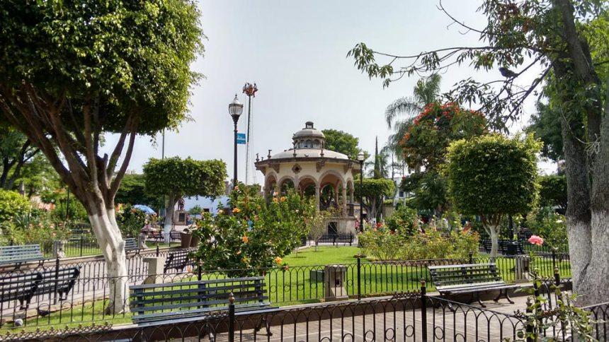 Parque Hidalgo en Tlaquepaque