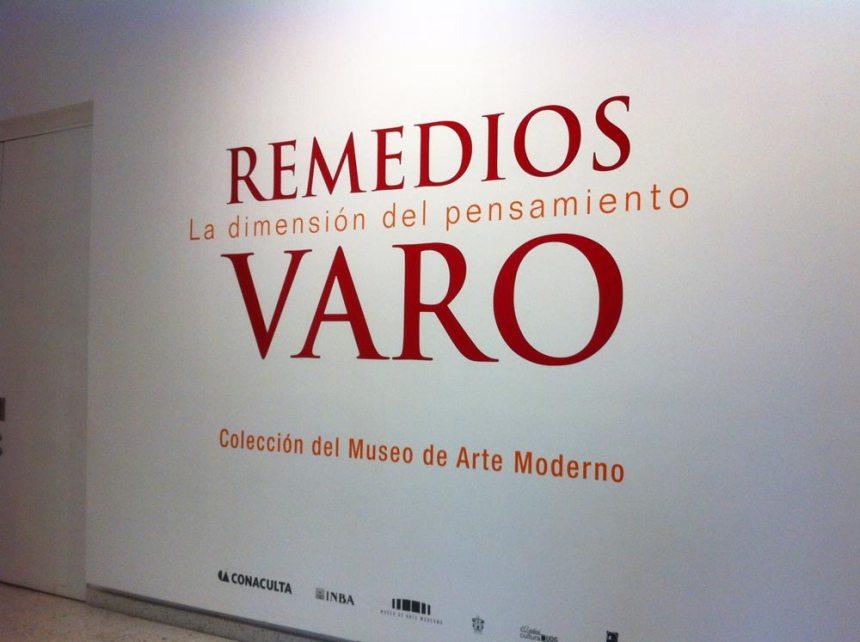 Cartel de la exposición de Remedios Varo