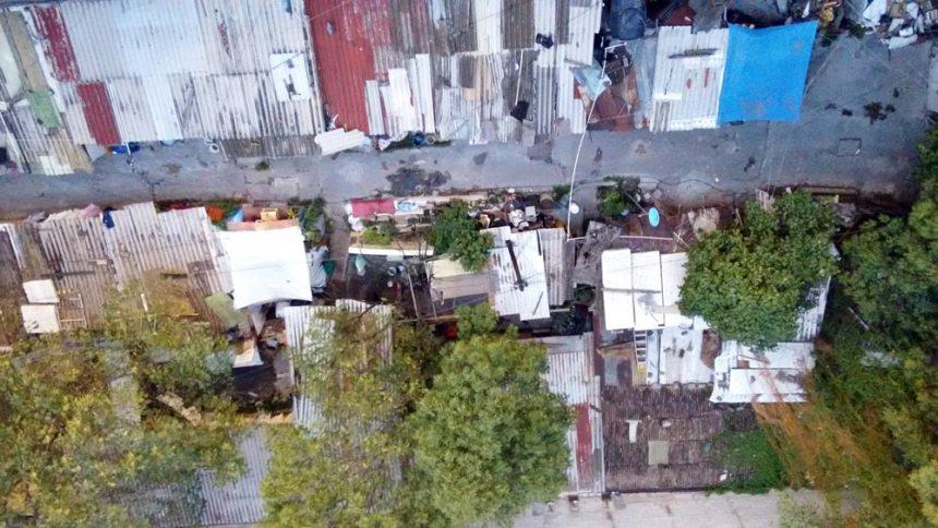 Vecindario popular al lado de la Cineteca Nacional